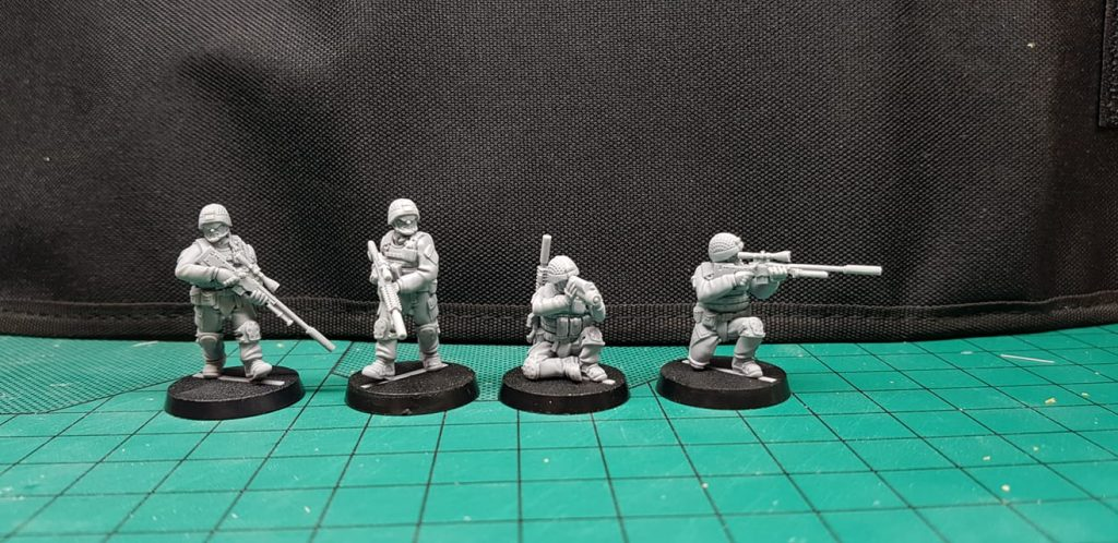 British Snipers - White Dragon Miniatures