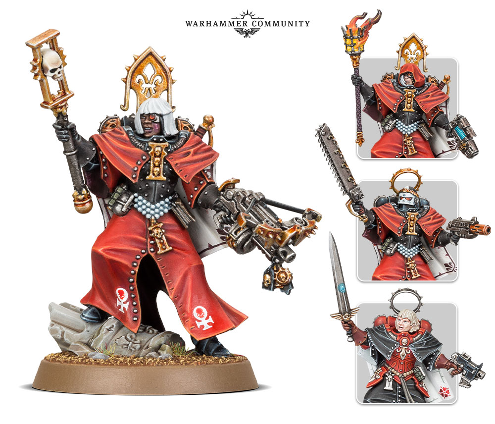 Canoness - 40K