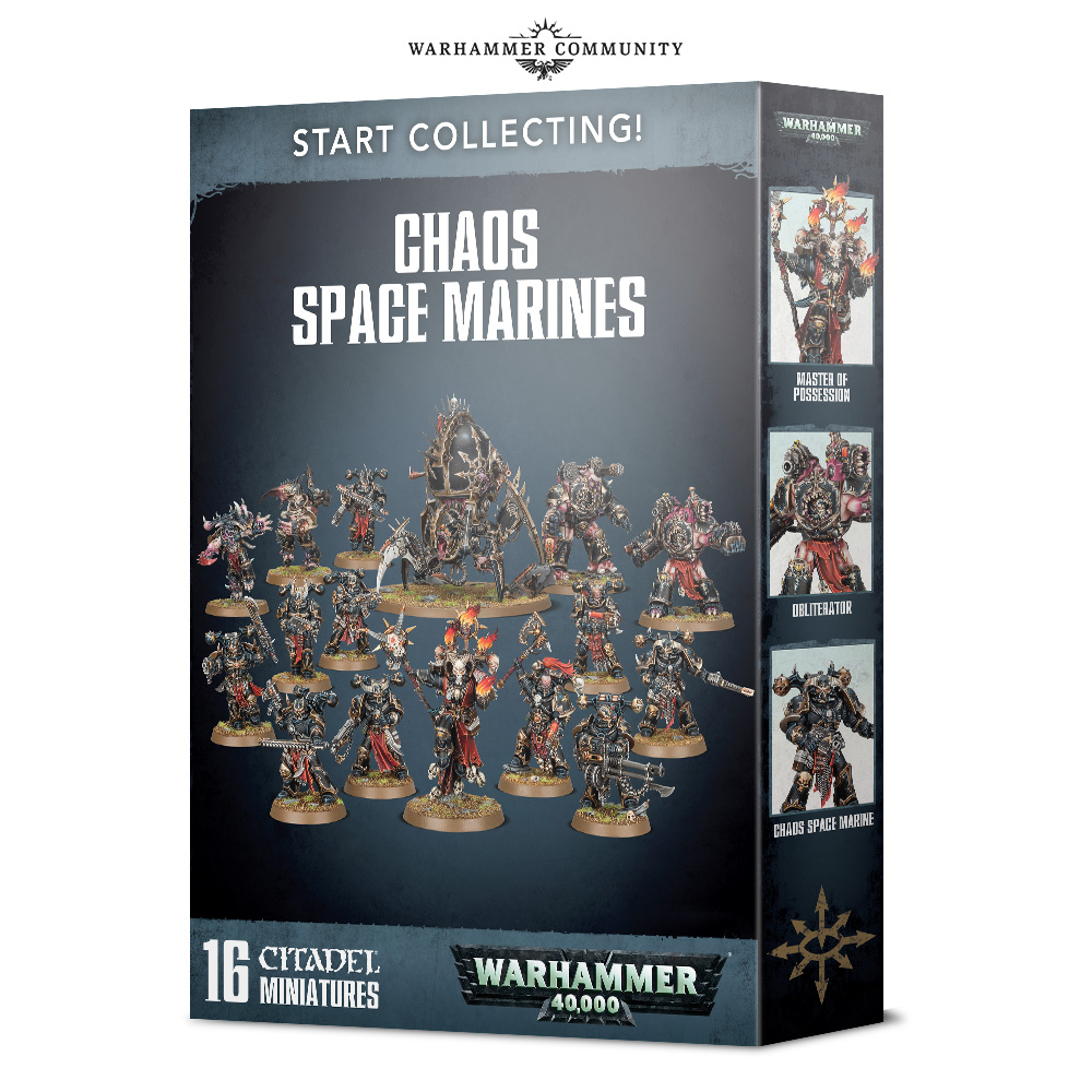 Chaos Space Marines - 40K