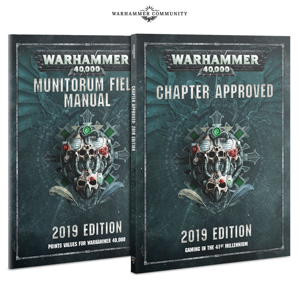 Chapter Approved 2019 - 40K