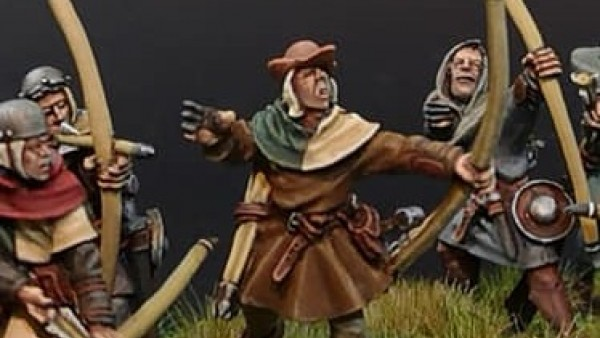 Claymore Castings Get Ready To Loose English Bowmen