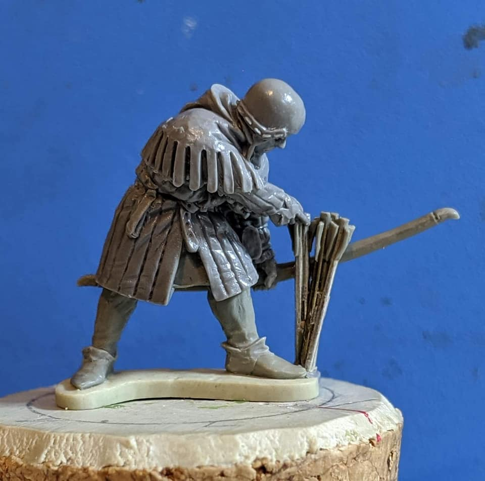 Claymore Castings English Archer 1