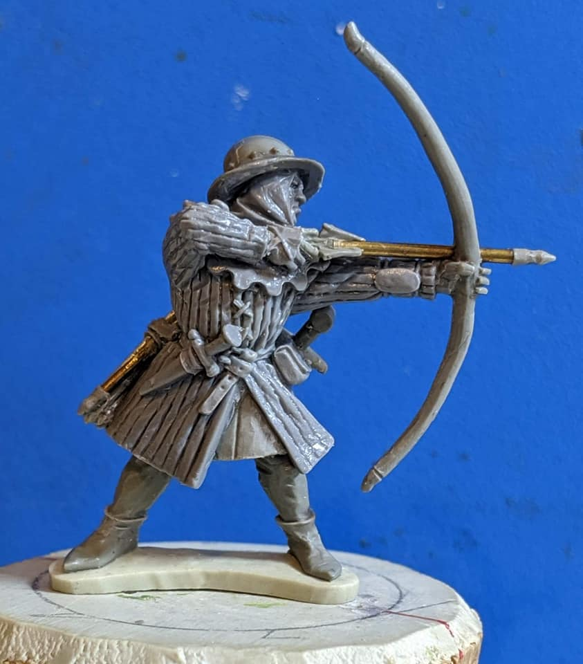 Claymore Castings English Archer 7