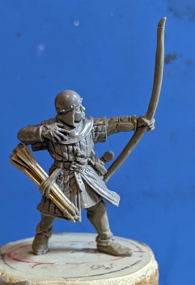 Claymore Castings English Archer 8