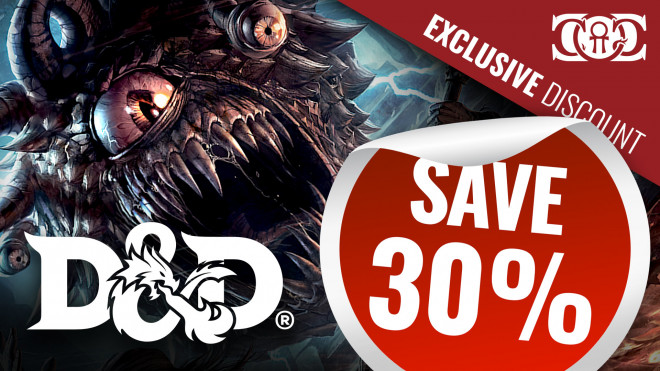 COG DEAL: Dungeons & Dragons 30% OFF RRP