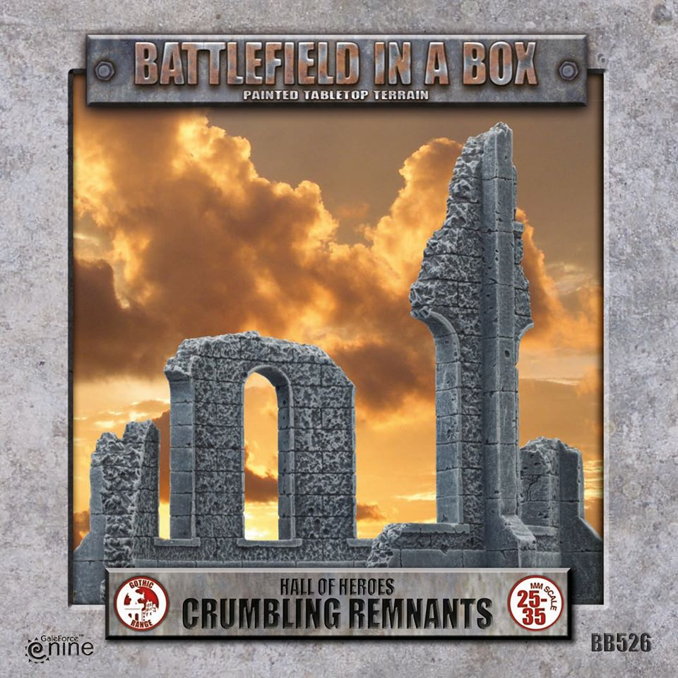 Crumbling Remnants - Gale Force Nine
