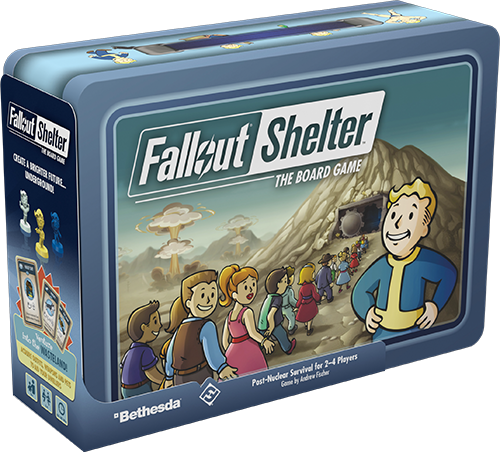Fallout Shelter The Board Game - FFG