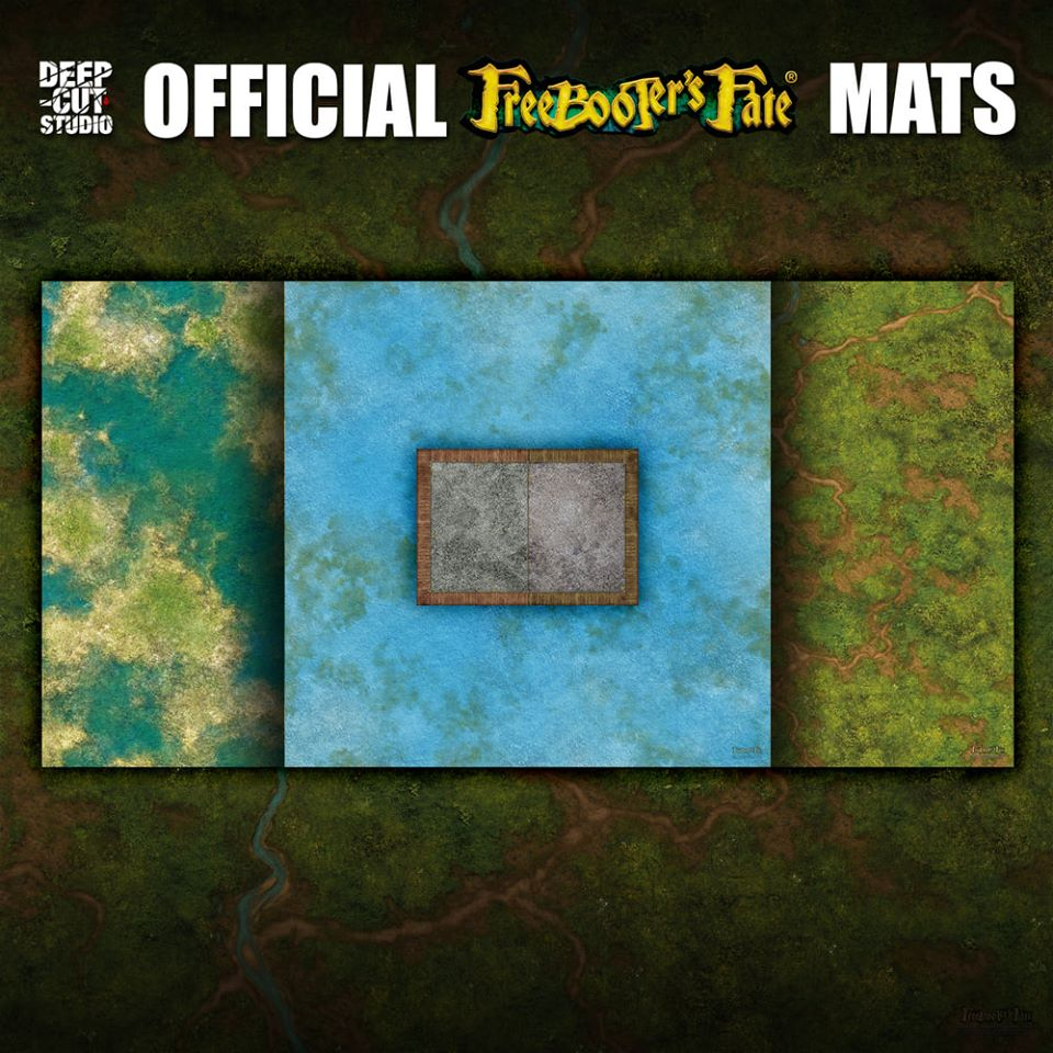 Freebooters Fate Mats - Deep Cut Studio