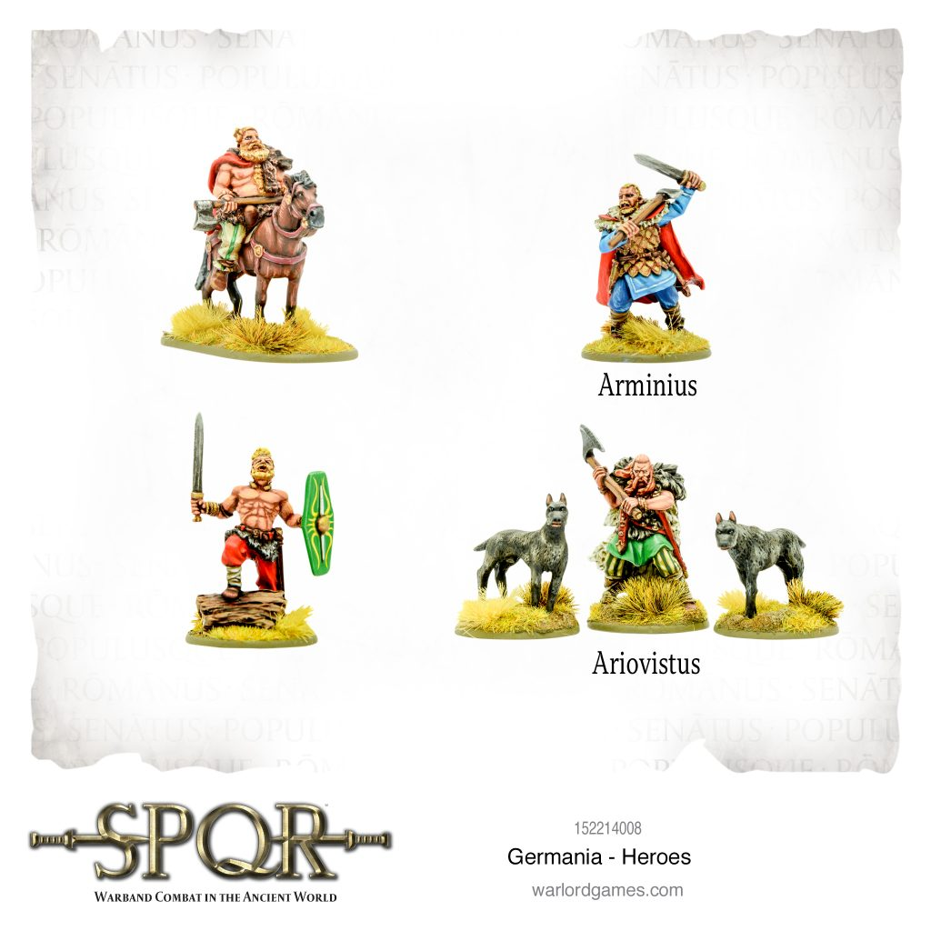 Germania Heroes - Warlord Games