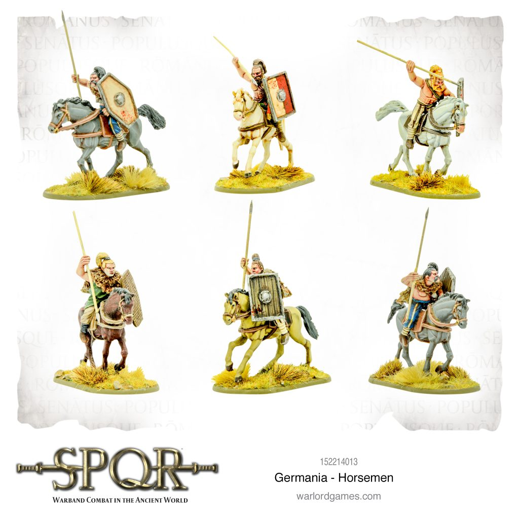 Germania Horsemen - Warlord Games