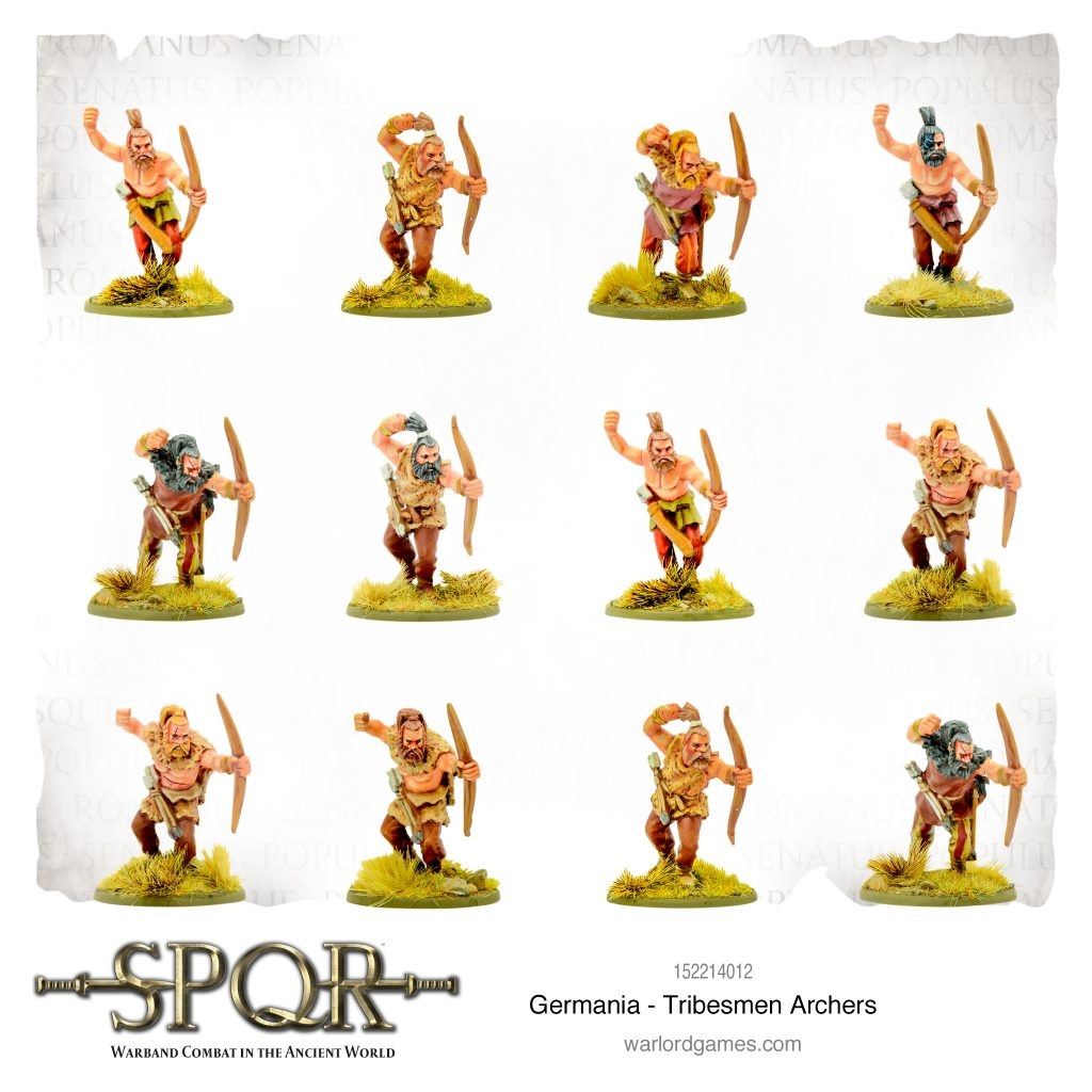 Germania Tribesmen Archers - Warlord Games