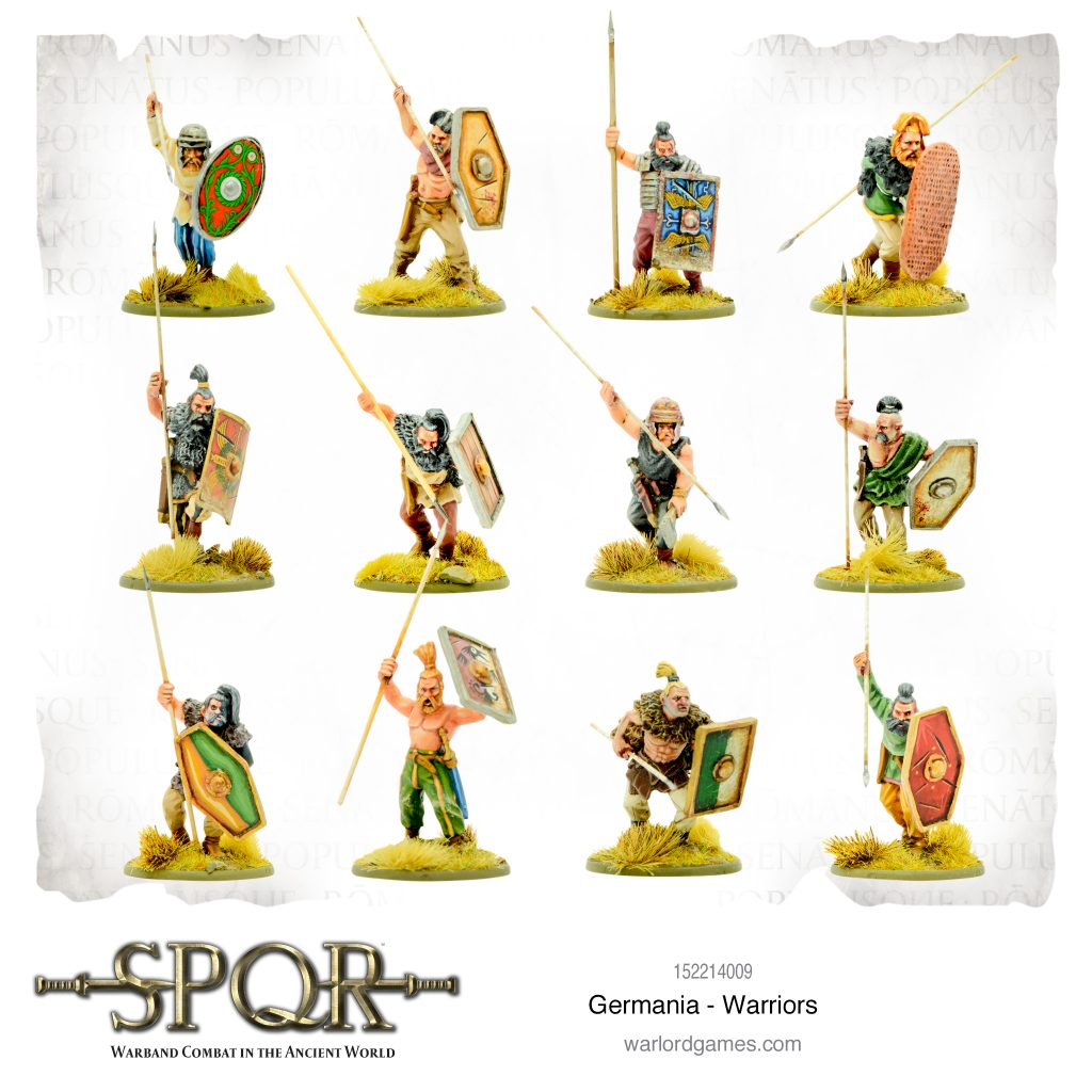 Germania Warriors - Warlord Games
