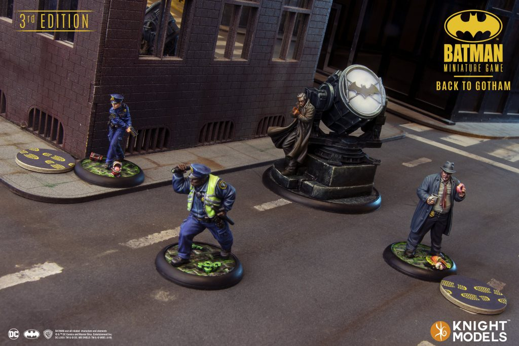 Gotham Cops - Knight Models