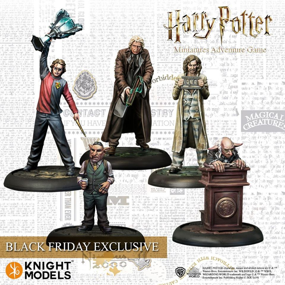 Harry Potter Black Friday Exclusives - Knight Models