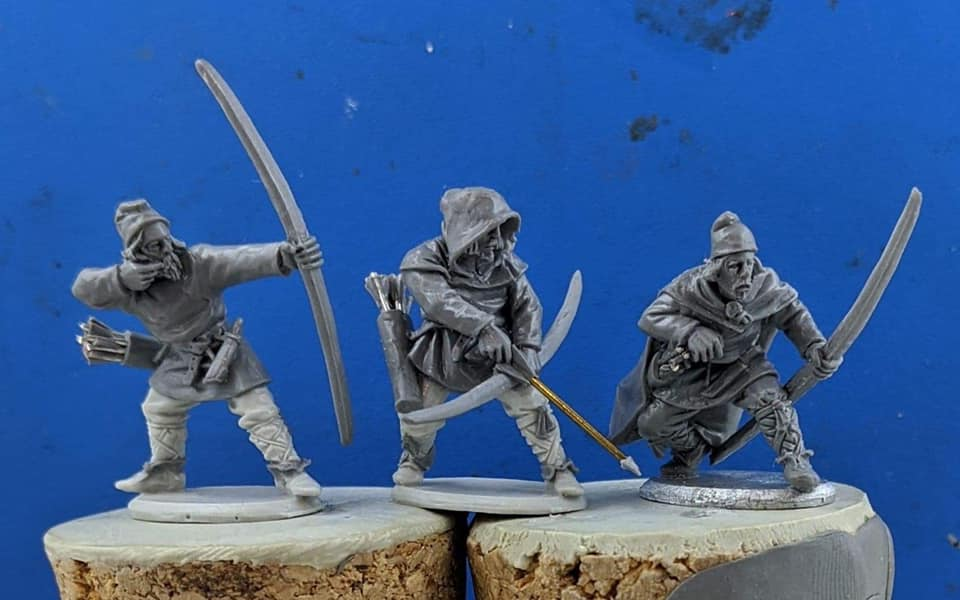 Late Saxon Archers - Footsore Miniatures