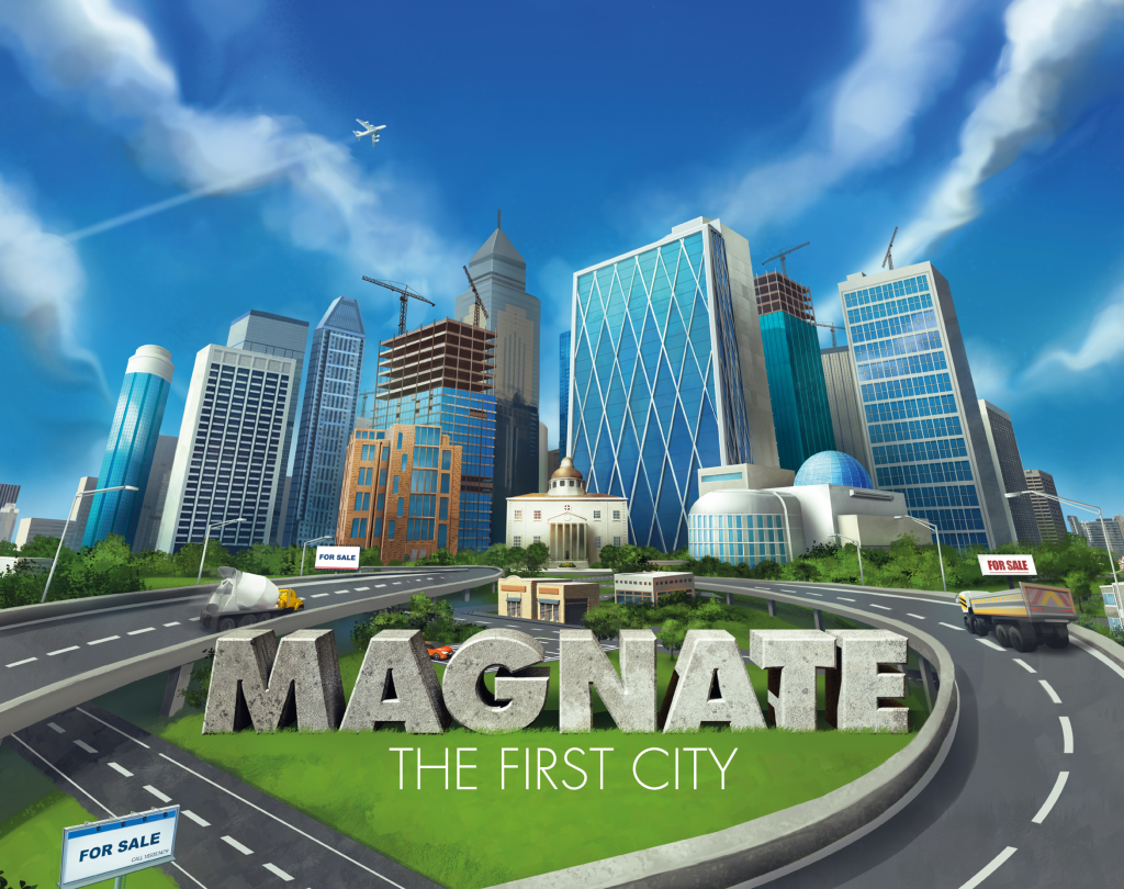 Magnate Cover Art - Naylor Games
