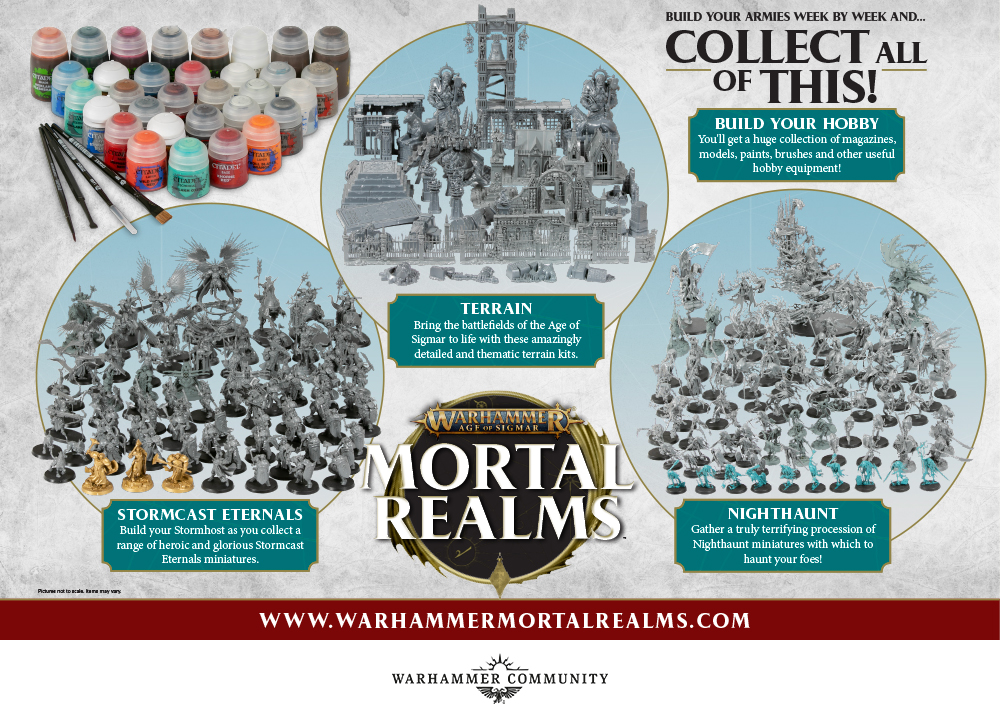 Mortal Realms Full Collection - Age Of Sigmar