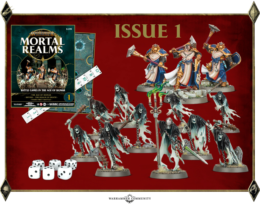 Mortal Realms Issue #1 - Age Of Sigmar