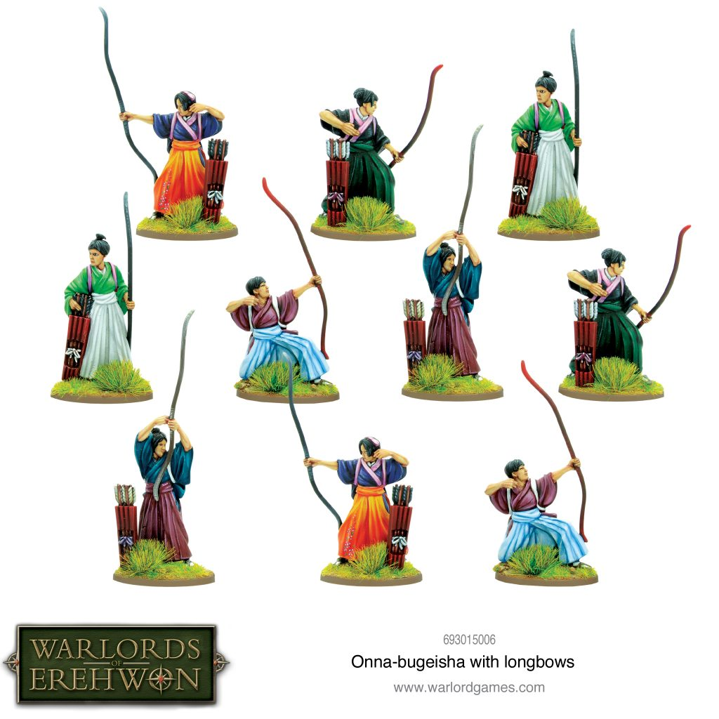 Onna Bugeisha With Longbows - Warlord Games