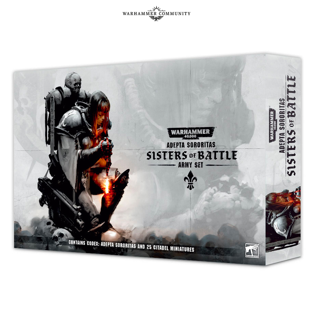 Sisters Of Battle Army Set - 40K