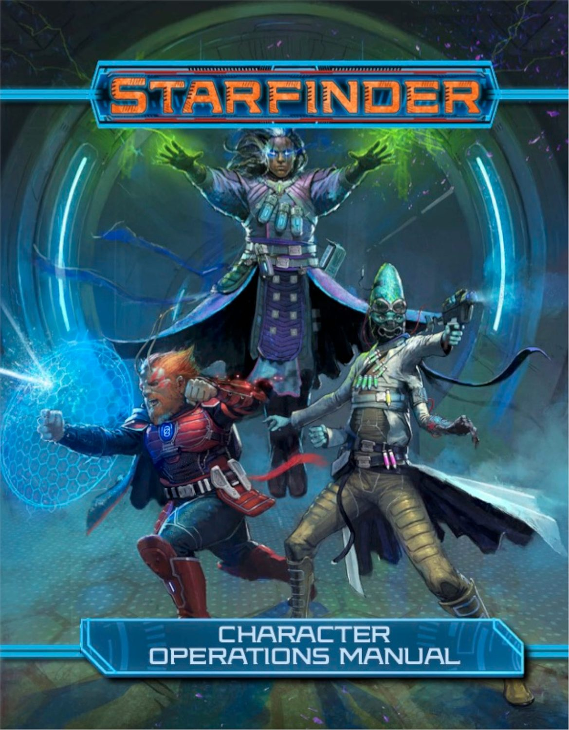 Starfinder Character Operations Manual - Paizo