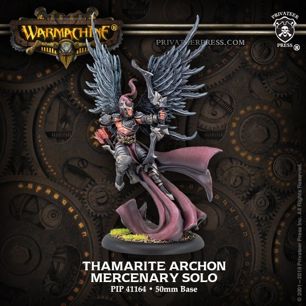 Thamarite Archon - Warmachine