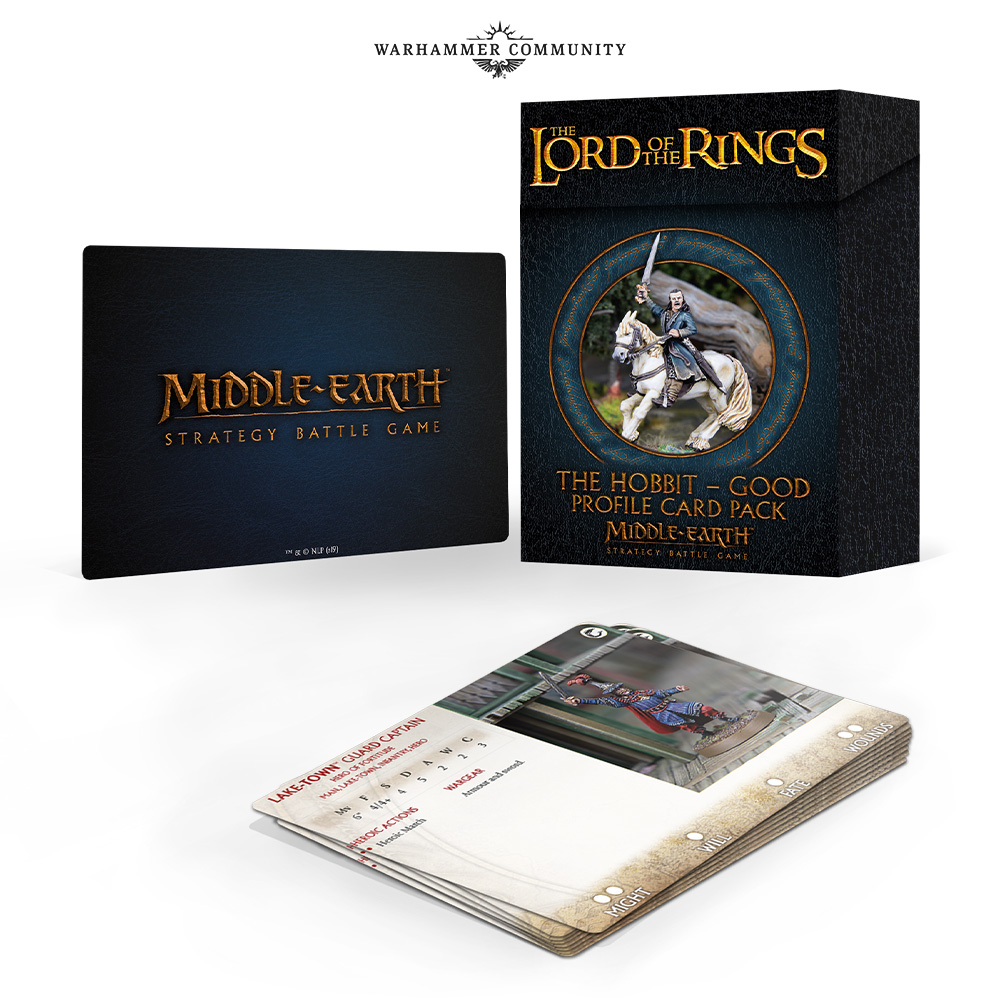 The Hobbit Good Cards - Middle-Earth