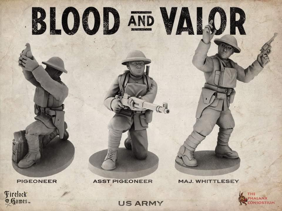 US Army Characters - Blood & Valor
