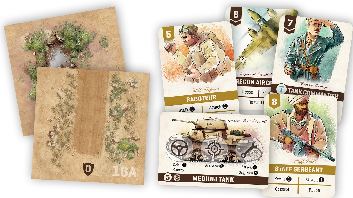 Undaunted North Africa Contents - Osprey Games