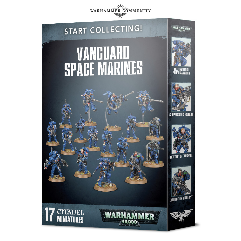 Vanguard Space Marines - 40K