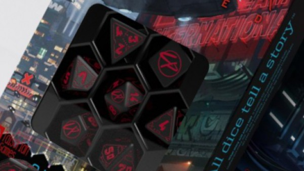Roll Like A Fixer With Q-Workshop's Cyberpunk Red Dice