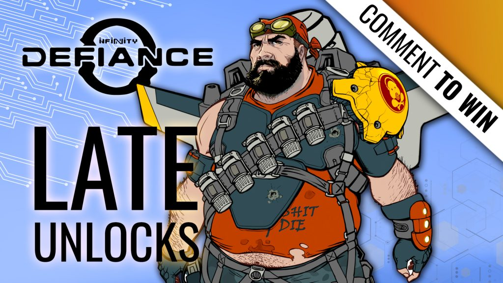 Infinity: Defiance Week - Late Unlocks in the Kickstarter