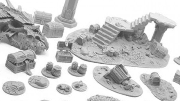 Ransack A Dragon's Lair With New HQ Resin Terrain Set