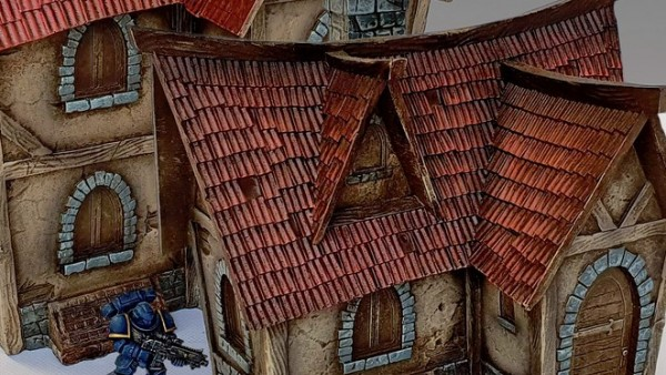 Check Out Deep-Cuts New Pre-Painted Fantasy Houses
