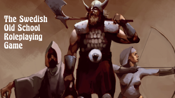 Get A Dose Of Old School Swedish RPG With Modiphius' Fantasy!