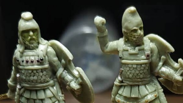 Persian Immortals Take Shape For Footsore's Mortal Gods