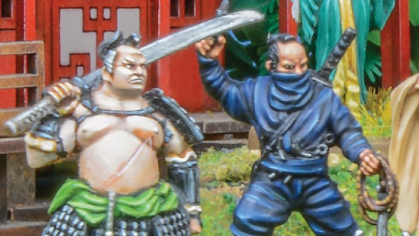 Warlord Games Assemble Erehwon Samurai Armies