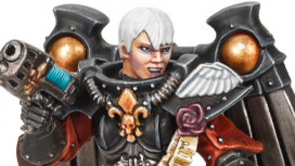 The Adepta Sororitas Drop Into Warhammer 40,000 This Weekend
