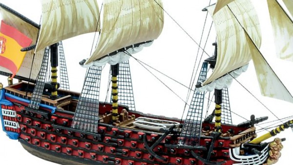 Set Sail In The Santísima Trinidad For Warlord's Black Seas
