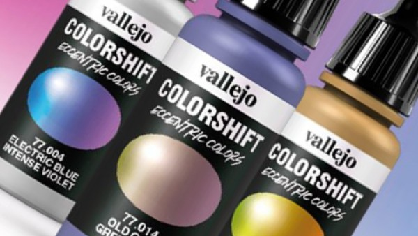 Get Groovy With Vallejo's New Colour Shift Airbrush Paints