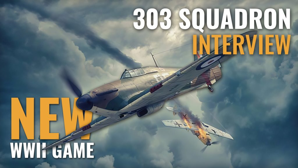 WWII Board Game 303 Squadron - Interview with Michal Kohmann