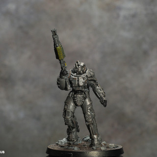 X-01 Power Armour Complete!!