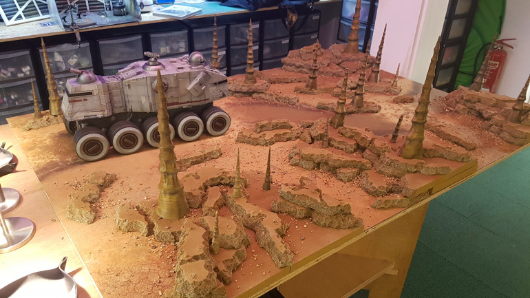Explore A Blasted Warzone - Check Out Our Genonosis Table!