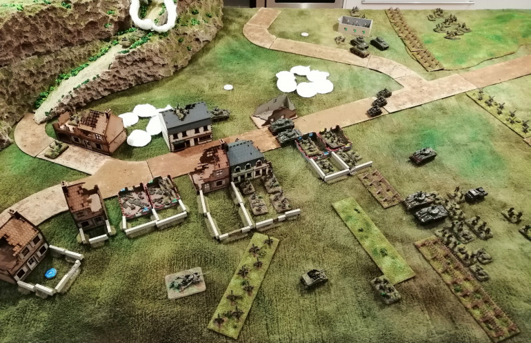 State of play in Turn 6