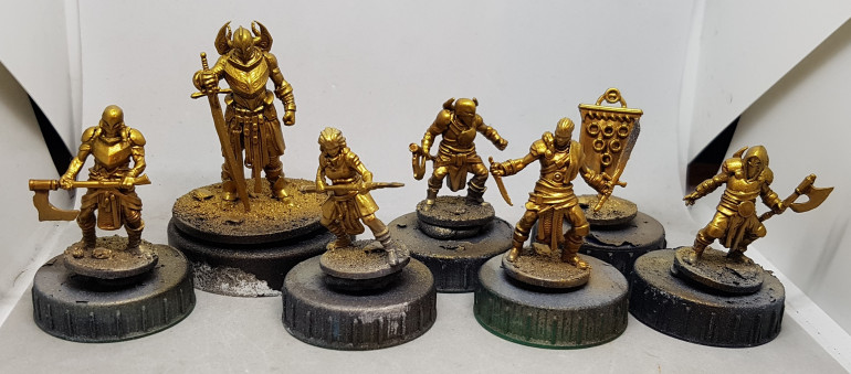 Golds all finished