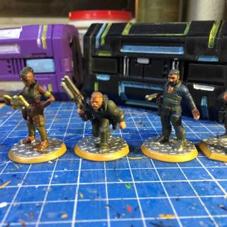 Rest of crew finished
