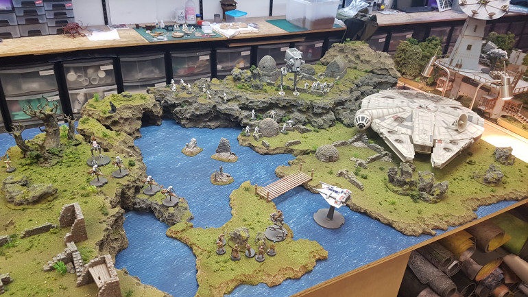 Taking To Some Glorious Tabletops - Ahch-To Reimagined