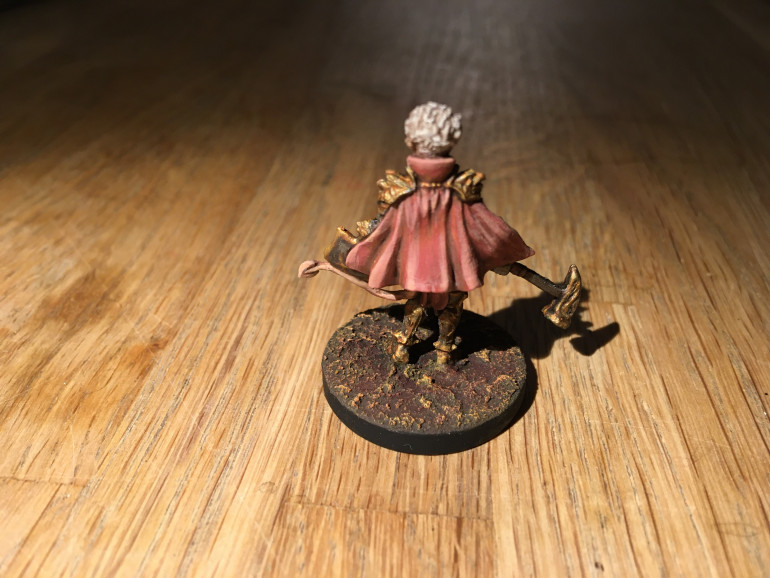 Cloaks are always fun to paint!