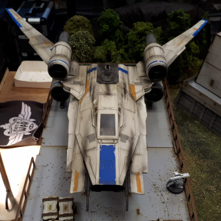 The Results of John's U-Wing Painting Stream