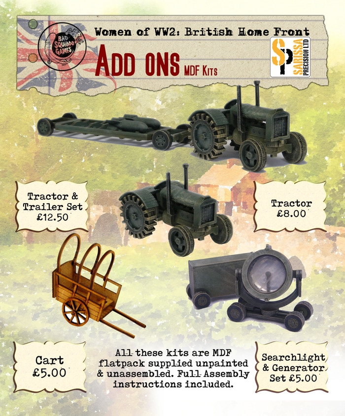 Add Ons MDF Kits